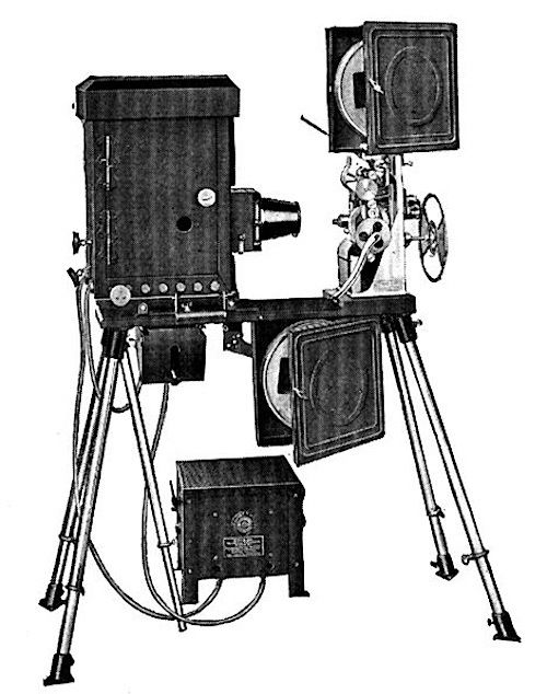 Projecting Kinetoscope